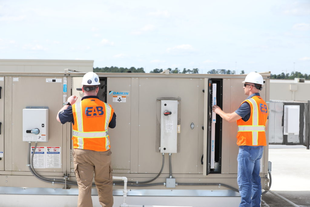 HVAC equipment troubleshooting