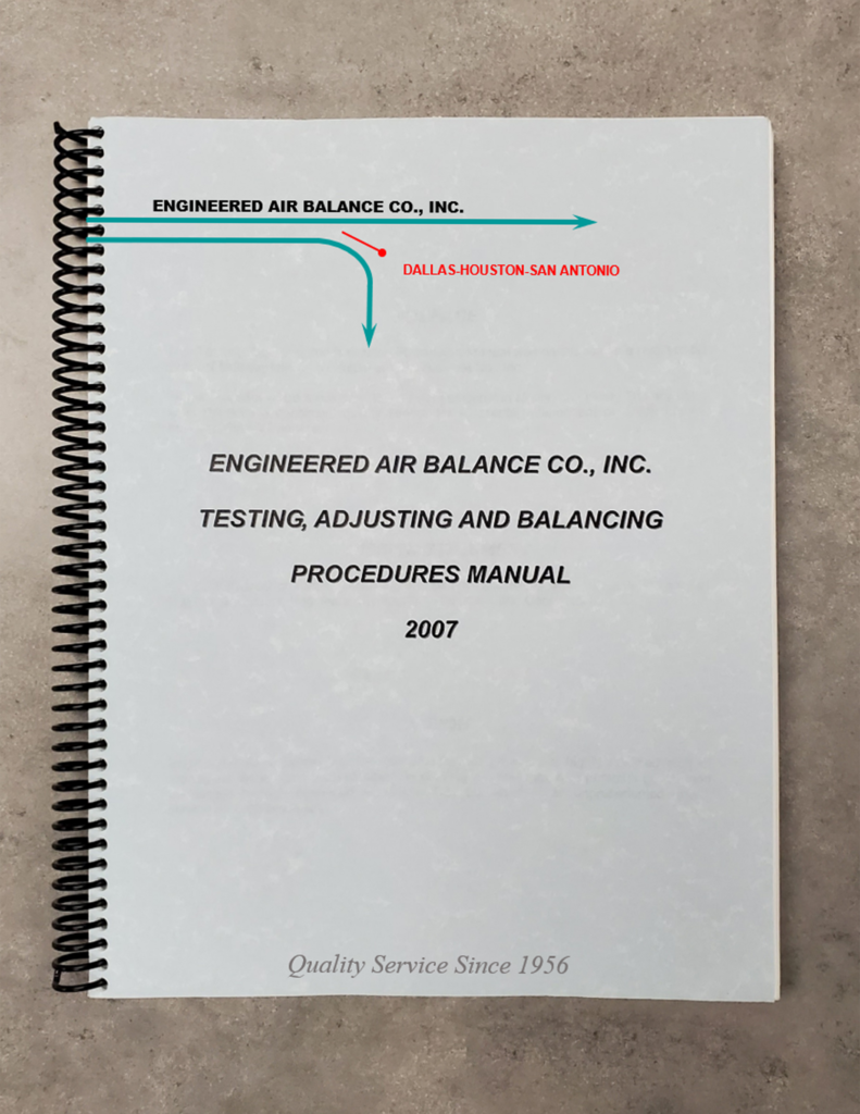 Testing, Adjusting, and Balancing Procedures